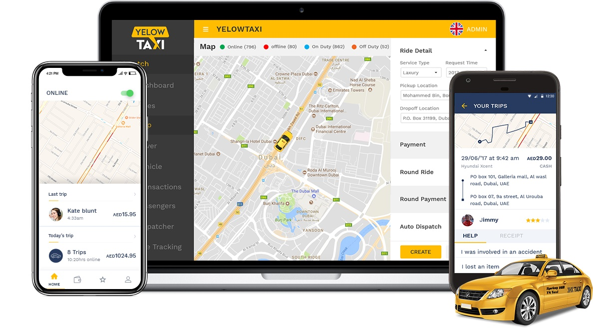 How Taxi Management Software Empowers Your Fleet Business
