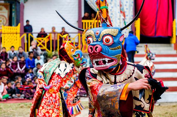 Folk Dance of Sikkim