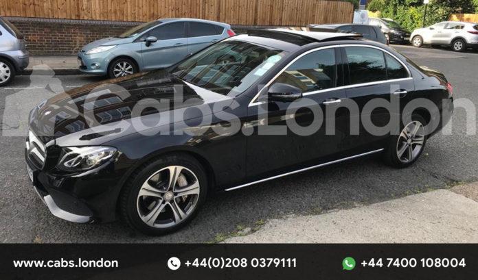 chauffeur driven cab in London