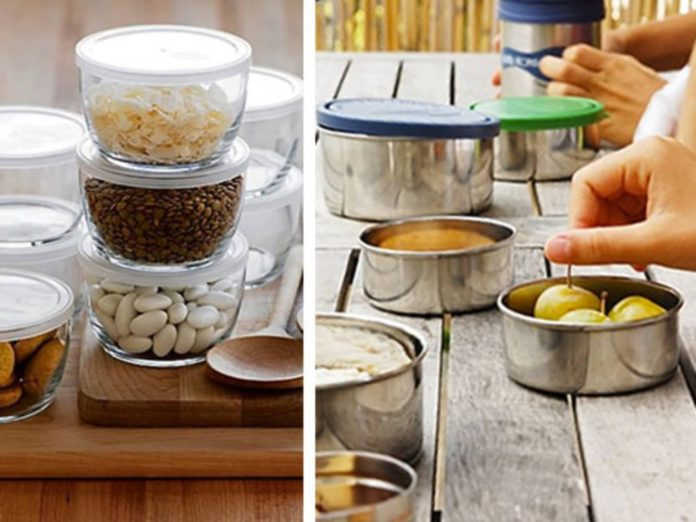 Pros and Cons: Metal Containers With Lids for Home Storage
